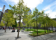 WTC memorial park Stock Photography