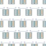 Battery pattern Stock Image