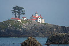 Battery Point Lighthouse. Crescent City, California Stock Image