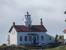 Battery Point lighthouse stock photo