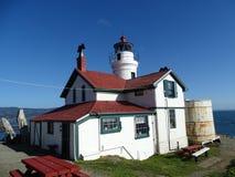 Battery Point lighthouse stock photography