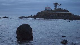 Battery Point Lighthouse stock video