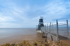 Battery Point Lighthouse, Portishead, Great Britain. Stock Photography