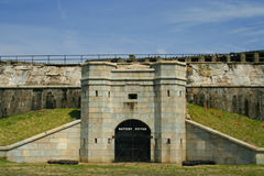 Fort Hancock, Sandy Hook, New Jersey Royalty Free Stock Photos