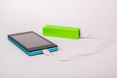 Battery power bank Royalty Free Stock Image
