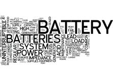 Battery Powered Chainsaws Word Cloud Concept Stock Photography