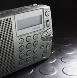 Battery powered radio Royalty Free Stock Photo