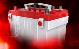 Battery range Royalty Free Stock Photography