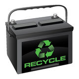 Battery Recycle Royalty Free Stock Images