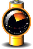 Battery reminder icon Royalty Free Stock Photos