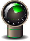 Battery reminder icon Stock Photos