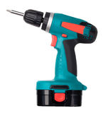 Battery screwdriver Royalty Free Stock Image