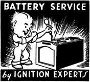 Battery Service 2 Stock Photos