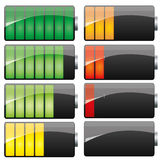 Battery set 2 Royalty Free Stock Photo