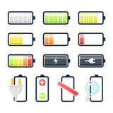 Battery Set Stock Photo