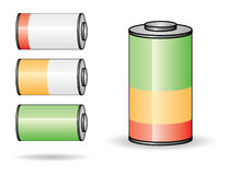 Battery set I Royalty Free Stock Photos