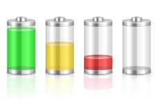 Battery set Stock Image