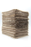 Battery of sheets of role Royalty Free Stock Photography