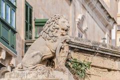 Battery Street in Valletta, Malta Royalty Free Stock Image