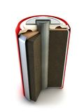 Battery structure Stock Images
