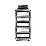 Battery supply isolated icon Royalty Free Stock Images