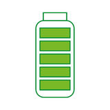 Battery supply isolated icon Stock Photo