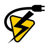 Battery symbol Stock Photo