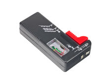 The Battery tester Royalty Free Stock Photo