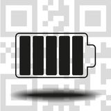 Battery vector icon stock images