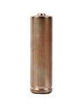 Battery on white Royalty Free Stock Photos
