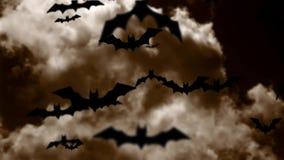 Battes de Halloween banque de vidéos