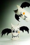 Battes de papier pour Halloween Photographie stock libre de droits