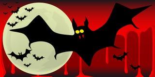 Battes de vampire Image libre de droits