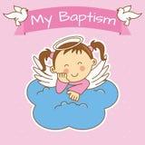 Battesimo della ragazza illustrazione di stock