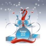 Batteur 2012 de dragon illustration stock