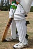Batteur de cricket Image libre de droits
