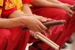 Batteurs chinois de nouvelle année, Malaisie photo stock