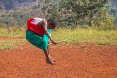Batteurs du Burundi Photographie stock