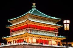 Battez du tambour de la tour, XI `, Chine Photographie stock libre de droits