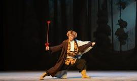 """Battez l'opéra de boxe-Pékin de tigre """"Taking le  de € de Tiger Montain By Strategyâ Images stock"""