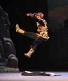 """Battez l'opéra de boxe-Pékin de tigre """"Taking le  de € de Tiger Montain By Strategyâ Image stock"""