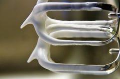 Battez le blanc d'oeuf photo libre de droits