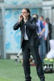 Battimenti Alania (Vladikavkaz) di Dinamo (Mosca) - (2: 0) immagine stock