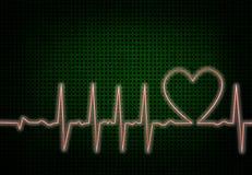 Battimento di cuore Fotografia Stock