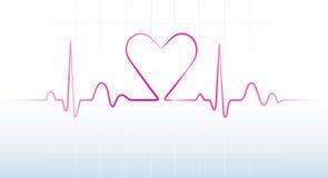 Battimento di cuore Immagini Stock