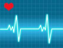 Battimento di cuore Fotografie Stock Libere da Diritti