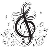 Battimento di musica Immagini Stock