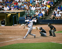 Batting de Derrek Lee Foto de archivo