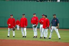 Batting Practice in Boston Royalty Free Stock Photos