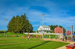 Batting Practice - Field of Dreams Movie Site - Dyersville, Iowa Royalty Free Stock Photos